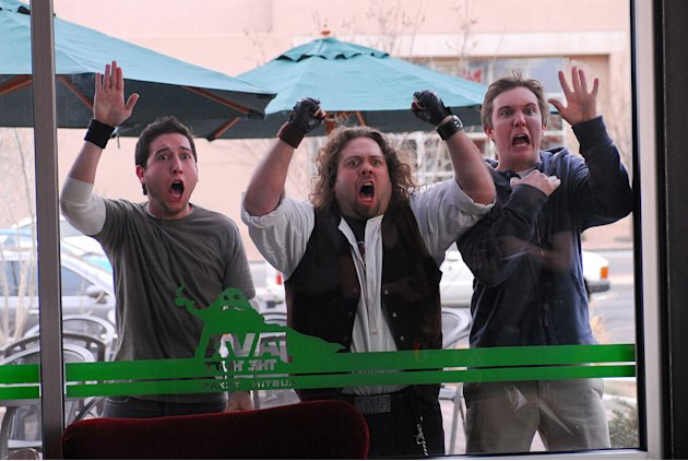 Fanboys Production Stills Weinstein Company 2008 Chris Marquette Dan Fogler Sam Huntington