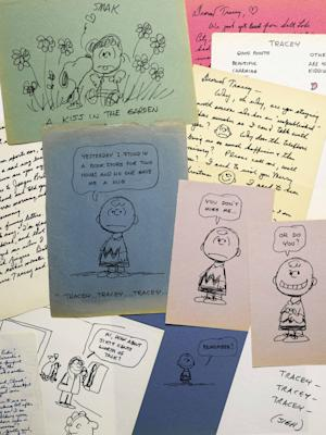 'Peanuts' creator's love letters going to auction