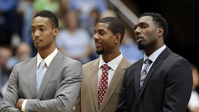 UNC: Hairston, McDonald to miss Tar Heels' opener
