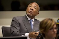 Former Liberian President Charles Taylor sits in the courtroom during his trial in May 2012 at the Special Court for Sierra Leone, based in Leidschendam outside The Hague, the Netherlands. Taylor has appealed his conviction for war crimes in Sierra Leone and the 50-year jail sentence imposed, the international court handling the case said Thursday