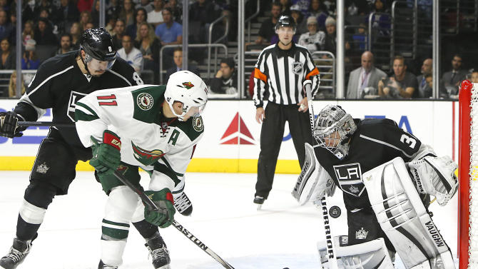 Quick, LA Kings edge Wild 2-1 for 4th straight win