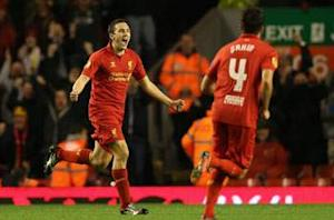 Liverpool 1-0 Anzhi Makhachkala: Downing wonder goal moves Reds top of Group A