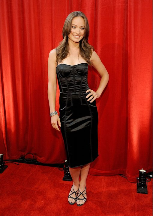 Olivia Wilde poses backstage during the 2009 ESPY awards held at Nokia Theatre LA Live on July 15, 2009 in Los Angeles, California.