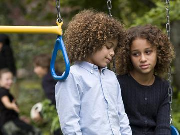 Micah Berry and Alexis Llewellyn in DreamWorks Pictures' Things We Lost in the Fire