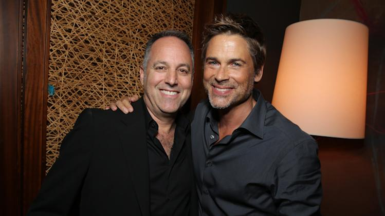 Producer Todd Black and Rob Lowe seen at Columbia Pictures 'Sex Tape' World Premiere held at Regency Village Theatre, on Thursday, July 10, 2014, in Westwood, Calif. (Photo by Eric Charbonneau/Invision for Sony Pictures/AP Images)