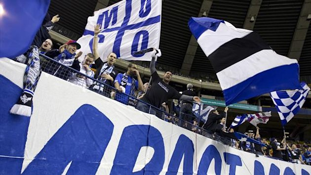 Fans cheer as Montreal Impact plays