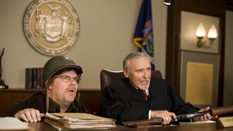 Kevin Farley Dennis Hopper An American Carol Production Stills Vivendi 2008