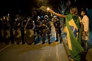 100,000 expected to protest ahead of Brazil semifinal