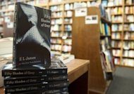 Copies of the book &quot;Fifty Shades of Grey&quot; by EL James are displayed at the Politics and Prose Bookstore in Washington, DC. With nearly 40 million copies sold, the erotic romance spiced up with sado-masochism is well on its way to breaking all the records
