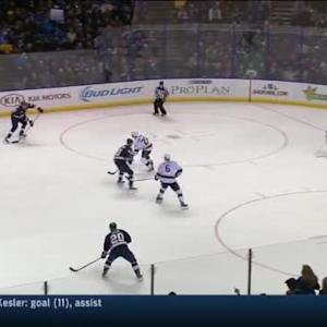 Kings at Blues / Game Highlights