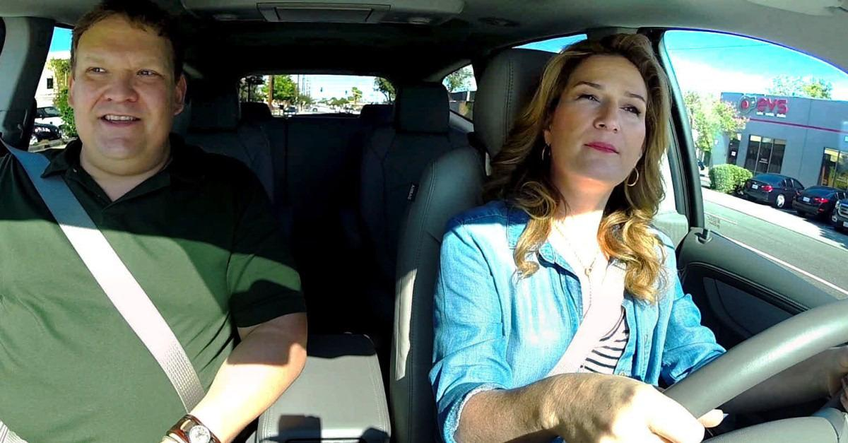 Ana Gasteyer and Andy Richter Hit The Road