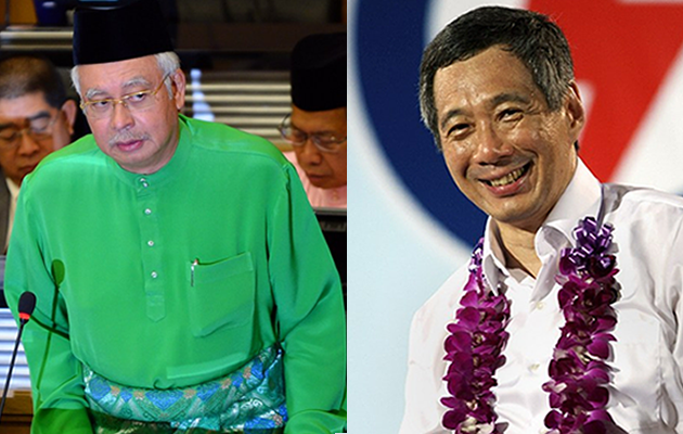 The Barisan Nasional (BN) coalition and the People's Action Party's (PAP) consistent electoral success was built on a combination of rapid economic growth and iron-fisted political control. (AFP photo)