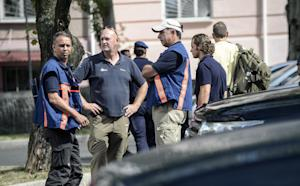 Dutch investigators wait in Donetsk as they prepare …
