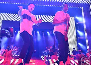Jay Z and Justin Timberlake Take Over Yankee Stadium as Legends of the Summer