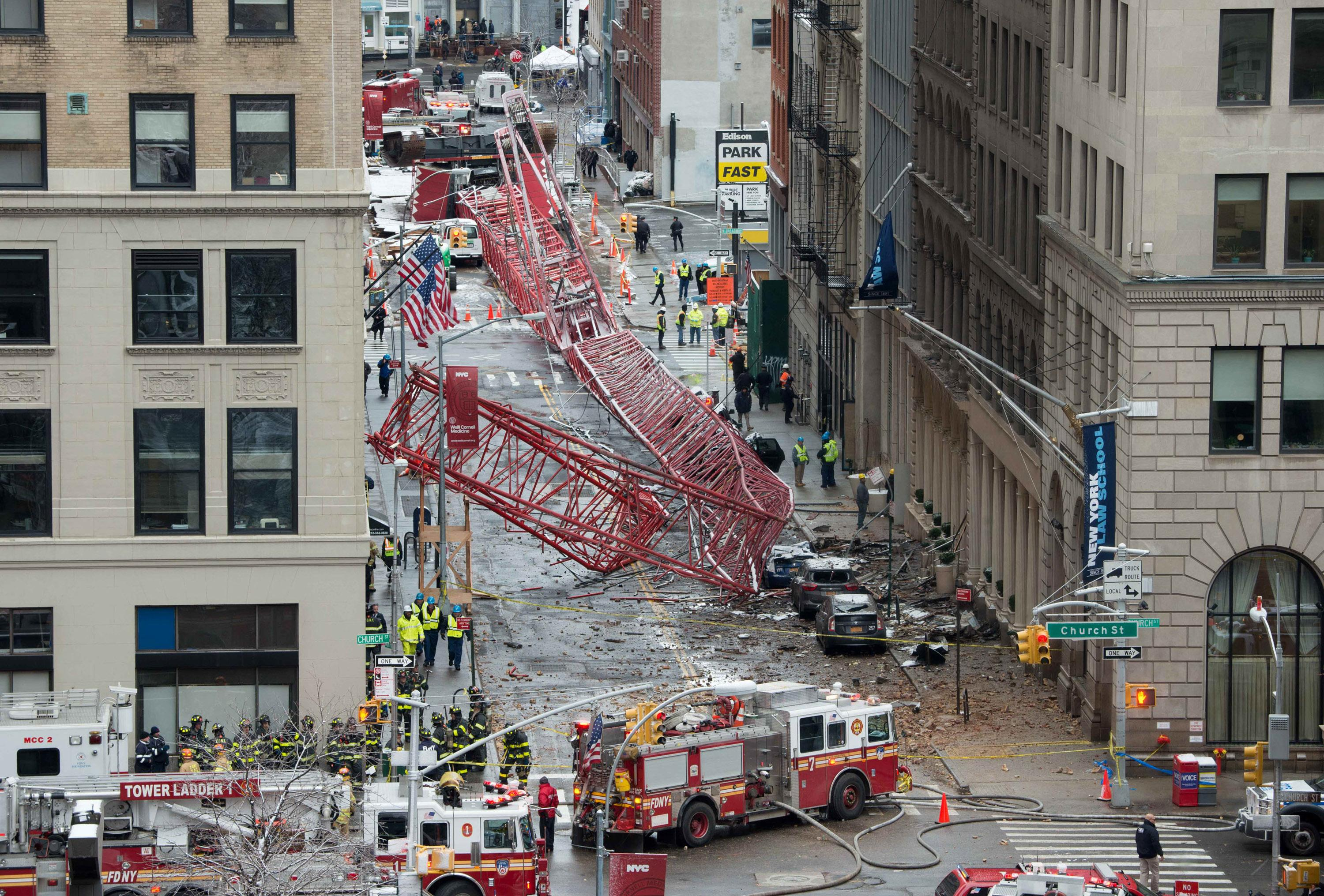 Cause of deadly New York crane collapse under investigation