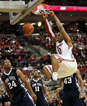 Sullinger leads No. 4 Ohio St past Penn St 78-54