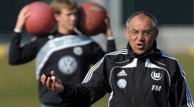 Viele Magath-Methoden standen zuletzt in der Kritik - der Medizinball aber nie.