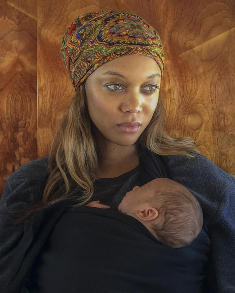 Tyra Banks Introduces Her Son York to the World