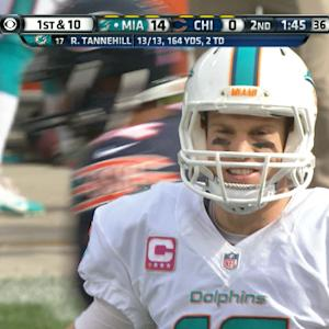 Week 7: Miami Dolphins quarterbakck Ryan Tannehill highlights