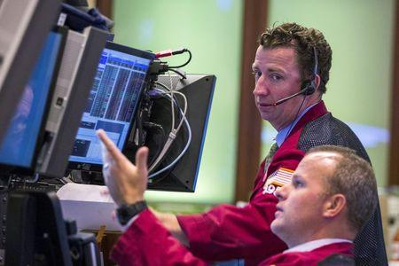 Wall Street a little lower in calm after the storm