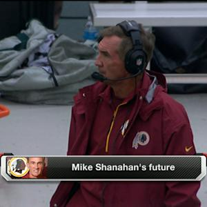 Washington Redskins head coach Mike Shanahan on the way out?