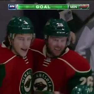 Thomas Vanek Goal on Karri Ramo (03:36/3rd)