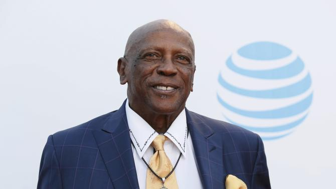 Actor Louis Gossett, Jr. arrives at the 47th NAACP Image Awards in Pasadena