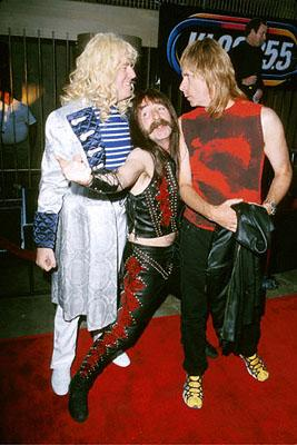 David St. Hubbins ( Michael McKean ), Derek Smalls ( Harry Shearer ) and Nigel Tufnel ( Christopher Guest ) at the Egyptian Theatre re-release of This Is Spinal Tap