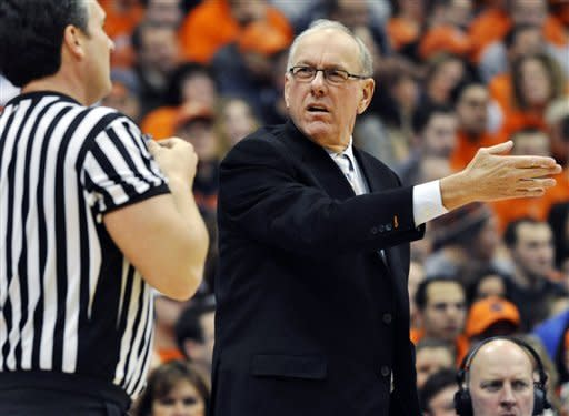 No. 7 Orange beat Rutgers 78-53; Boeheim gets 903
