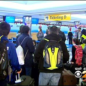 Wet, Foggy And Windy Weather Snarling Some Holiday Travel