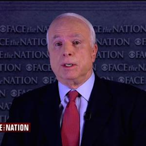 "John McCain: Obama either ""in denial or overwhelmed"" about ISIS threat"