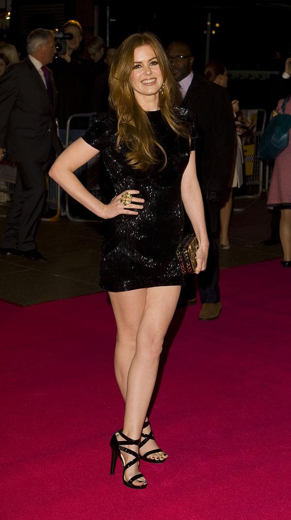 Confessions of a Shopaholic UK Premiere 2009 Isla Fisher