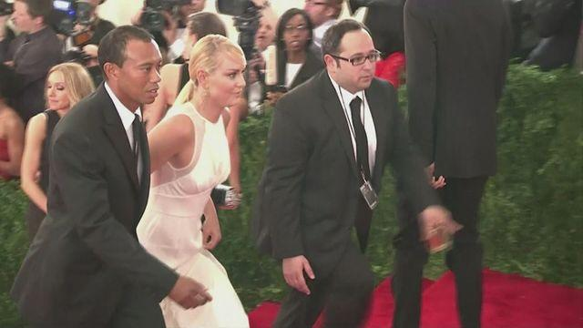 Woods and Vonn make first public appearance as a couple