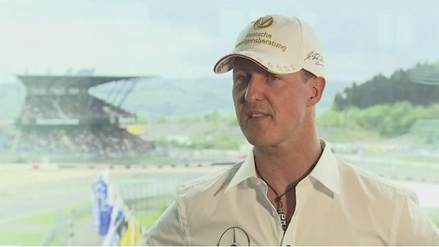 Schumacher talks F1 and Champions League final