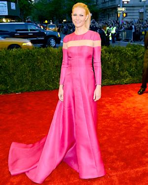 Gwyneth Paltrow, Chris Martin Avoid Pictures Together at Met Gala 2013