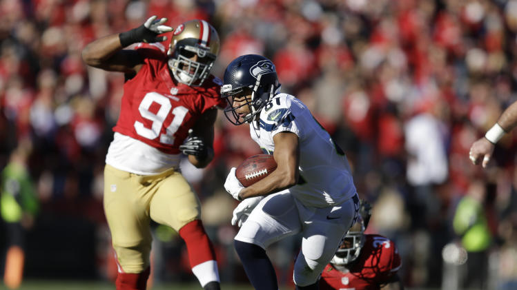 Report: 49ers' McDonald arrested for domestic abuse; victim all…