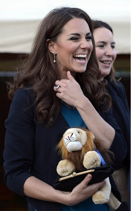 Duchess Of Cambridge Attends Performance Of 'The Lion, The Witch &amp; The Wardrobe' In Kensington Gardens