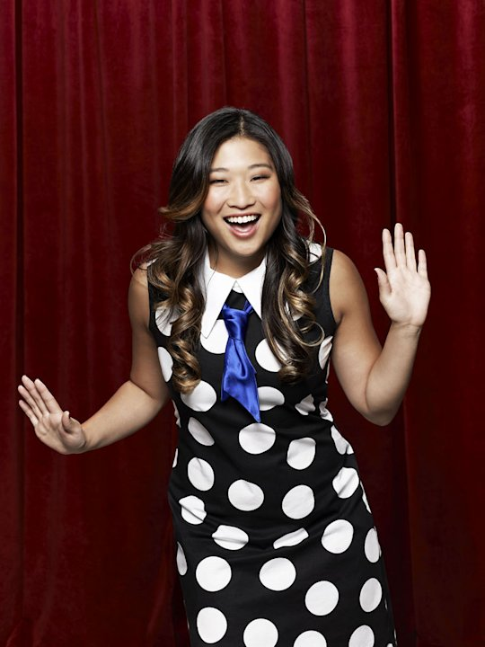 "Jenna Ushkowitz returns as Tina in ""Glee."""