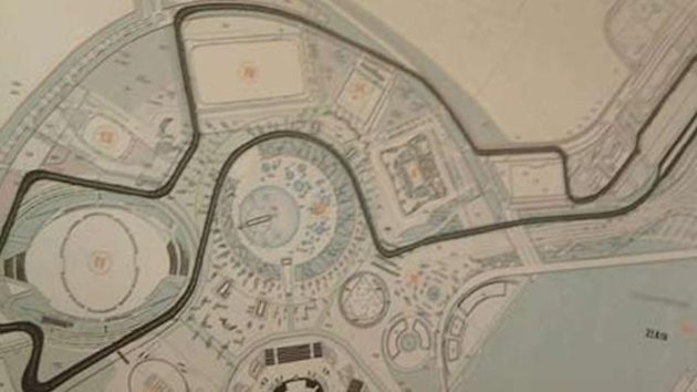 2014 Russian GP Sochi Circuit