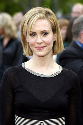 Sarah Paulson at the LA premiere of Paramount's Changing Lanes