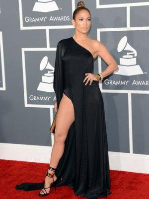 Grammys 2013: Jennifer Lopez Shocked at CBS Memo, Claims She Just Showed 'a Little Leg'