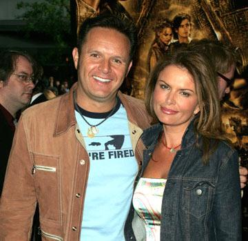 Premiere: Mark Burnett and Roma Downey at the New York premiere of Warner Brothers' Troy - 5/10/2004