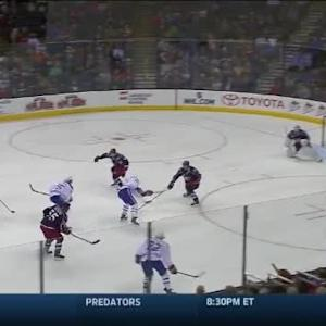 Curtis McElhinney Save on Lars Eller (13:30/2nd)