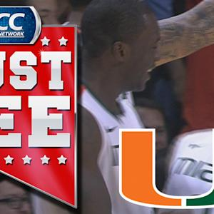 Shane Larkin Alley-Oop Off The Backboard To Kenny Kadji | ACC Must See Moment Of 2013 Candidate
