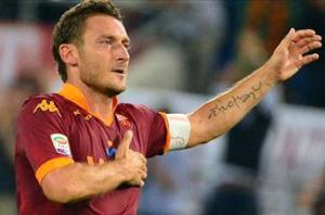 Totti: Juventus out of Roma's reach
