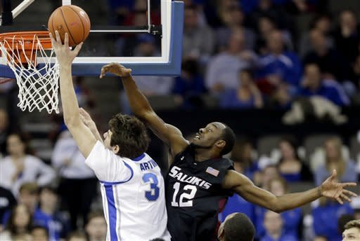 Creighton gets 59-45 win over Southern Illinois
