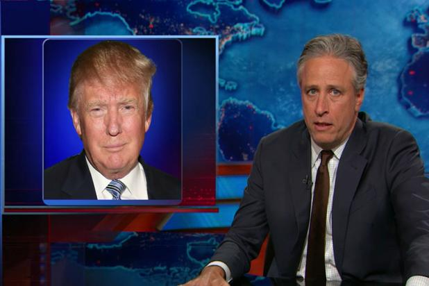 Jon Stewart Will Have Trouble Retiring if Donald Trump Runs for President (Video)