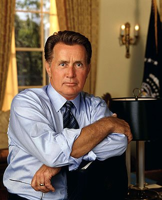 "Martin Sheen as President Josiah Bartlet on NBC's ""The West Wing"" West Wing"