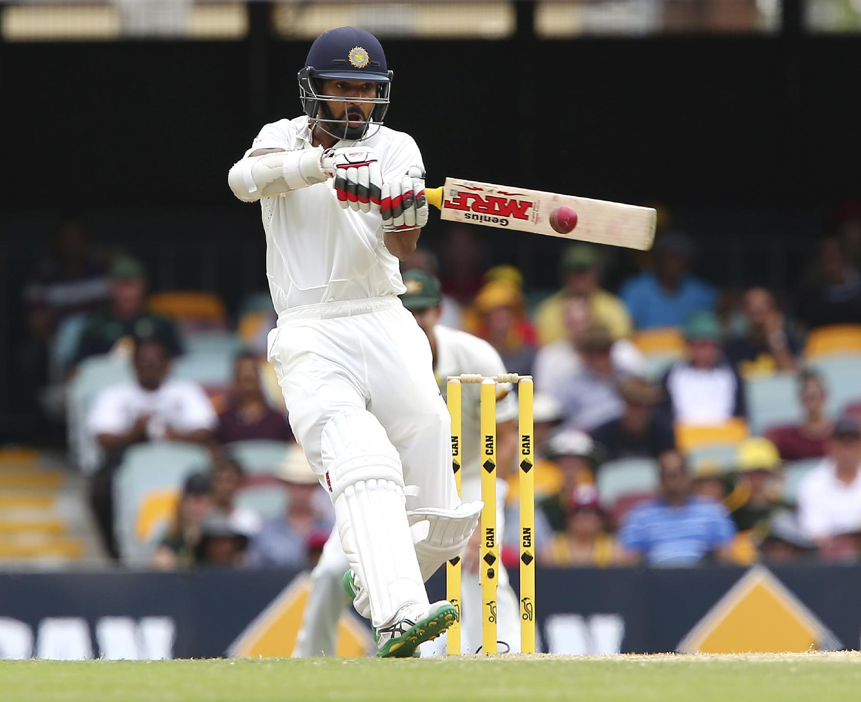 Dhawan's practice injury hurts India's prospects