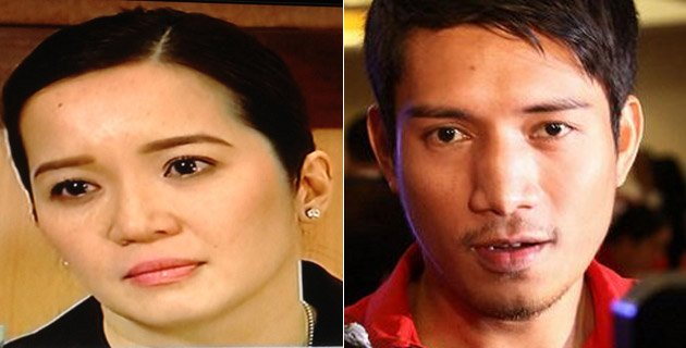 Kris Aquino and James Yap